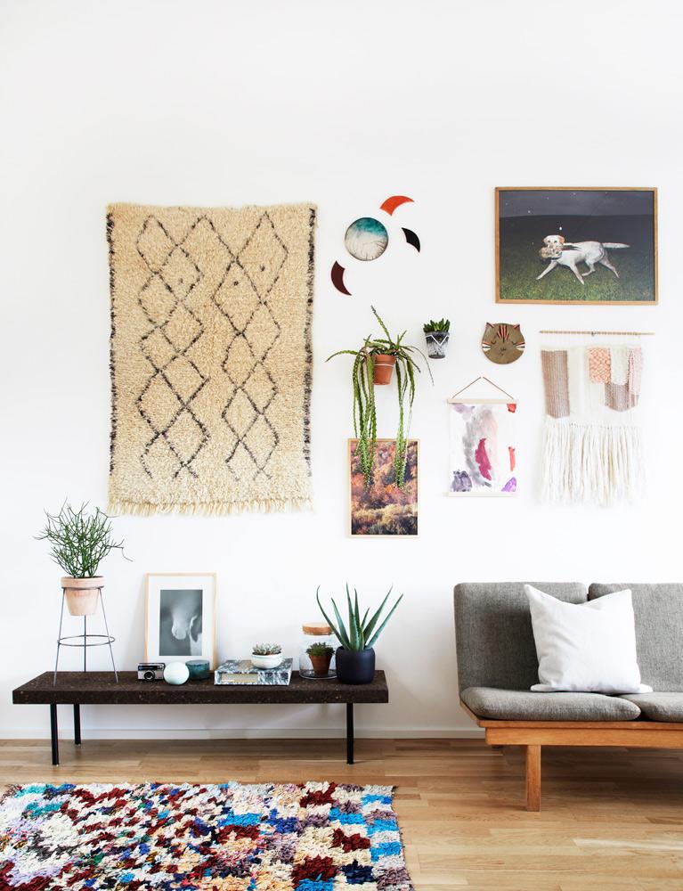 billedvægge, kunst, boligmagasinet, væg dekoration