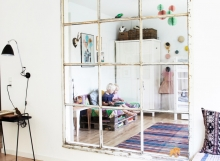 interiør, boligliv, børn, gamle vinduer
