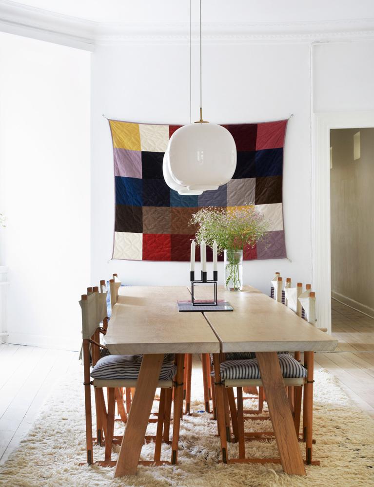 interiør, bolig, indretning, væg tæppe