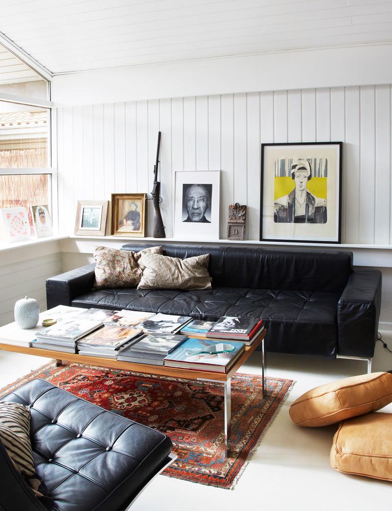 sommerhus, kunst, bolig, indretning, interiør