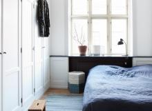 soveværelse, bolig, interiør, væg farver, DIY