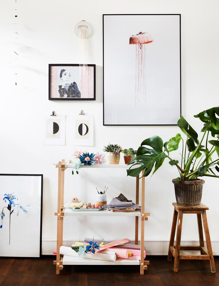 vægge, kunst, væg dekoration, billed vægge