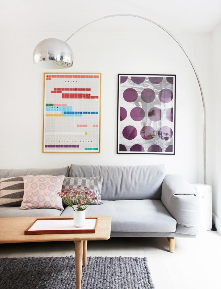 kartoffelrækkerne, bolig, interiør, stue, design