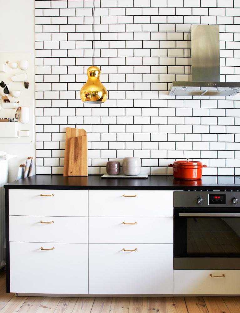 Køkken, Bolig, metro fliser, Ikea køkken