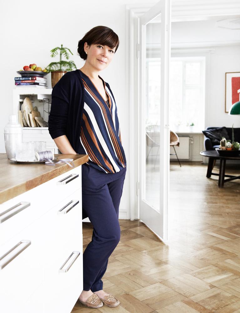 Louisa Lorang, kok, kogebogs forfatter, mad, kager